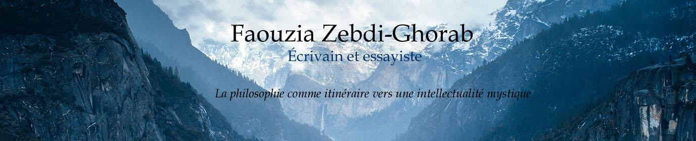 Faouzia Zebdi-Ghorab, Essayiste